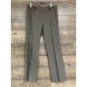 ANN TAYLOR Petite Pants Lindsay style brown  6P